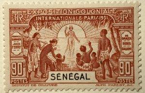 AlexStamps SENEGAL #140 SUPERB Mint