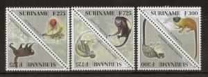 Suriname 1997 Primates in Pairs MNH