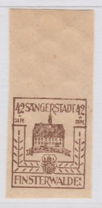 Finsterwalde WWII Germany World War II Local Stamp 1946 42+38pf MNH** A20P4F196