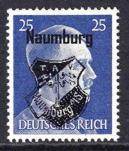 GERMANY 518 NAUMBURG COAT OF ARMS OVERPRINT OG NH U/M VF