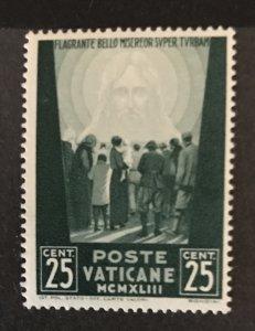 Vatican City 1942 #77, Unused/MH, See Note, CV $.25