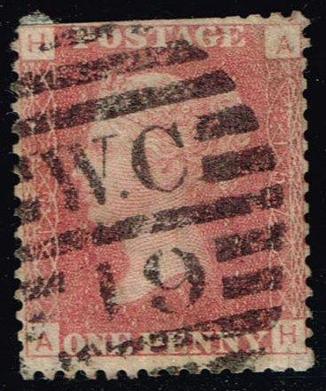 Great Britain #33 Queen Victoria; Used (3.00)