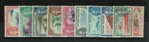 Cayman Islands SG# 135 - 143 Mint Hinged / Few Hinge Rem / see notes - S3555