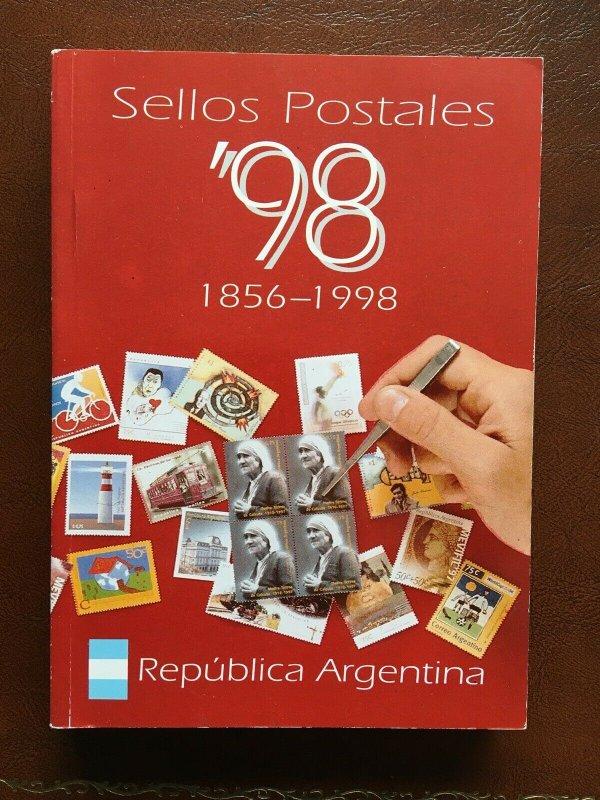 Daniel Teggia Specialized Argentina Catalogue 1856-1998.