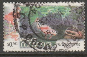 MEXICO CONSERVA 2253, 50¢ MANGROVE SWAMPS. USED. VF. (736)