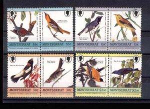 008878 MONTSERRAT ADUBON BIRDS set MNH #8878