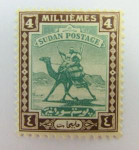 1936 Sudan  SC #32  Camel  MH stamp