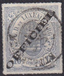 Luxembourg #O3 F-VF  Used  CV $2400.00  (Z1203)