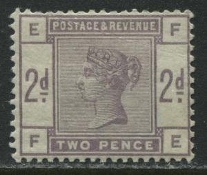 GB QV 1884 2d lilac mint o.g.