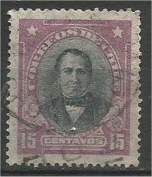CHILE, 1911, used 15c, Prieto, Scott 104