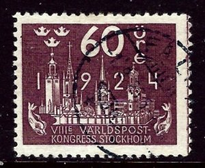 Sweden 207 Used 1924 issue    (ap3503)