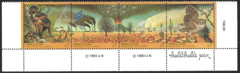 United Nations UN Austria Vienna 1993 Sc # 159a Mint NH. Ships Free With Another