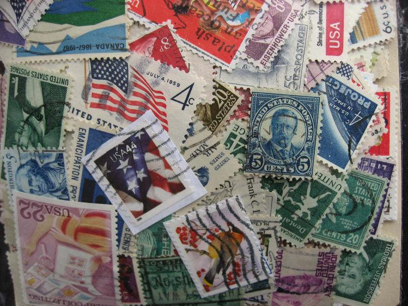 USA colossal mixture (duplicates,mixed condition) 2000 40% commems 60% defins