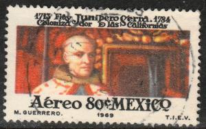 MEXICO C346, In Honor of Fray Junipero Serra. Used. F-VF. (1169)
