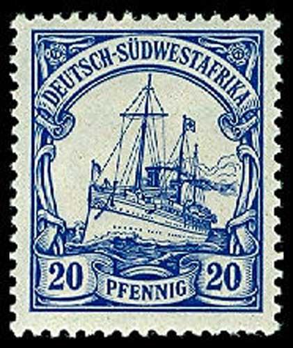 GERMAN SOUTH WEST AFRICA 16  Mint (ID # 55686)