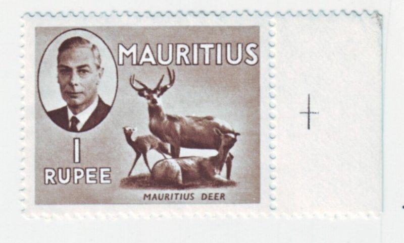 J22167 Jlstamps 1950 mauritius part of set mnh #246 king