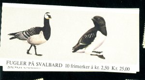 NORWAY 801A 822A MINT BOOKLETS FVF Cat $21