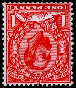 SG337 SPEC N10b(3), 1d brt scarlet, M MINT. Cat £30.WMK INVERTED.