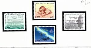 Fiji 603-06 MNH 1989 Voyage of William Bligh