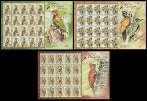Woodpecker Malaysia 2013 Bird Nature Wildlife Forest Animal (sheetlet) MNH