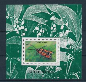 [26579] Tanzania 1996  Butterfly MNH  Souvenir Sheet