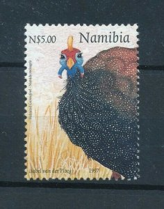 [103003] Namibia 1997 Bird vogel oiseau Christmas From sheet MNH