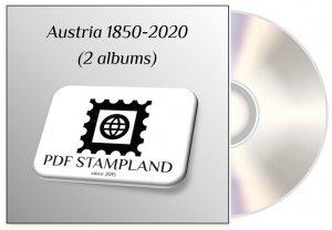 Austria 1850-2020 (2 albums) PDF STAMP ALBUM PAGES
