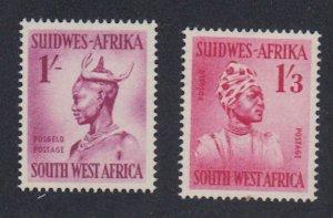 Southwest Africa - 1954 - SC 255-56 - LH