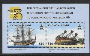 SOLOMON ISLANDS SGMS923 1999 AUSTRALIA 99 MNH