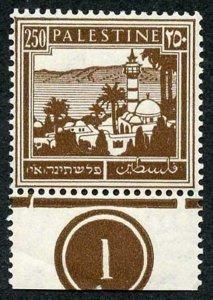 Palestine SG109 1932 250m Brown U/M Plate example