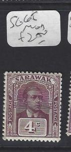 SARAWAK  (P2911B)  BROOKE  4C    SG 65     MOG