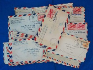 WW2: 42 Covers W/Letters from Midway Island (S17253)