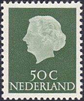 Netherlands # 354 mnh ~ 50¢ Queen Juliana