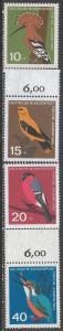 GERMANY B388-91 MNH M1222-2