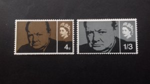 Great Britain 1965 Sir Winston Spencer Churchill  Mint