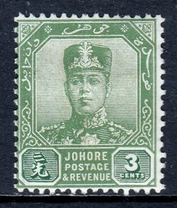 Malaya (Johore) - Scott #104 - MH - Hinge crease - SCV $2.25