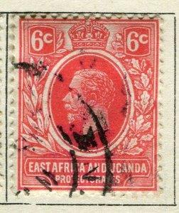 BRITISH KUT; 1912 early GV issue fine used 6c. value