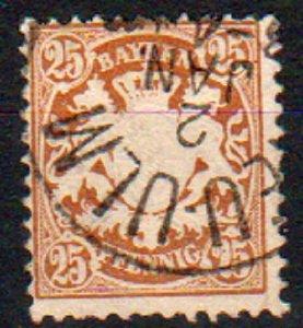 Mi: 41   Used   1876  Cat  €  8.00  bavaria