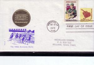 U.S. FDC Sc.# 1755+1613 Jimmie Rodgers Medallion Cachet L217