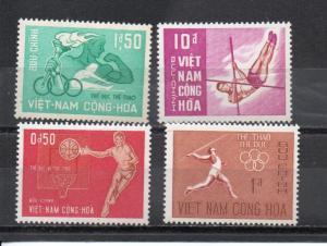 Vietnam - South #272-275 MNH