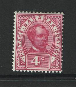 Sarawak SG# 39, Mint Hinged, Hinge Remnant, minor crease - S982