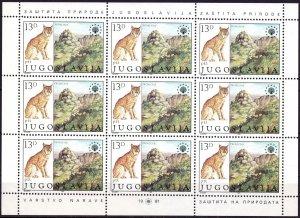 Yugoslavia. 2006. 1908-9. Fauna. MNH.