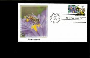 2007 FDC Pollination Washington DC
