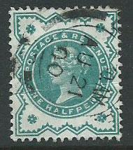 Great Britain - QV SG 213