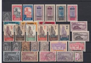 French Colonies Mixed Collectable Stamps Ref 27854