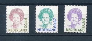 [17064] Netherlands 2006 Definitives Queen Beatrix 3 values MNH