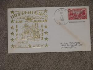 U.S.S. Kane Independence Day July 4, 1937, LA PALLICE FRANCE