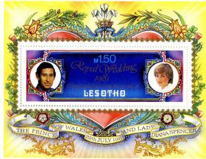 LESOTHO 337A MNH S/S SCV $1.75 BIN $1.25
