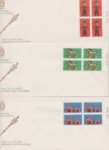 CANADA FDC FROM HOUSE OF COMMONS STAMPS #839-841  LOT#M112