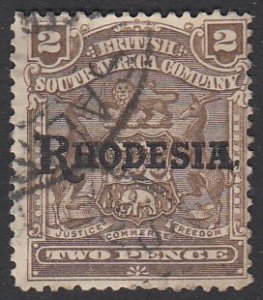 Rhodesia 84 Used CV $9.00